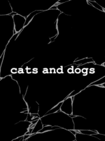 cats and dogsの表紙画像